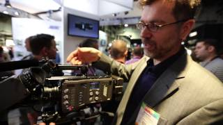 In depth with the ARRI AMIRA Camera at NAB