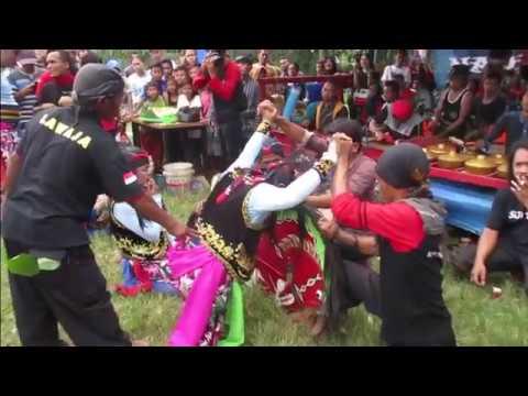 Penyembuhan Mendem Janturan Jam 01 20 Ebeg Nada Budaya di Jalan Jalak Purwokerto