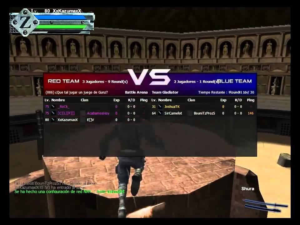 gunz herogamers the duel