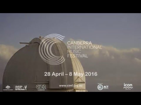 2016 Canberra International Music Festival (30-second promo)