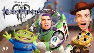 FIRST EVER PLAY OF KINGDOM HEARTS III #ad