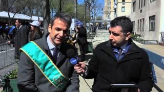 Το ρεπορτάζ του New Greek TV από την Ελληνική Παρέλαση στη Νέα Υόρκη