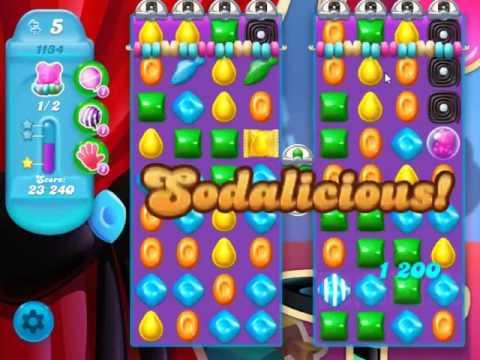Candy Crush Soda Saga Level 1134 - NO BOOSTERS