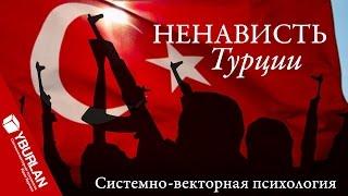 Русско-турецкие отношения. Иррациональная ненависть и ущерб. Системно-векторная психология