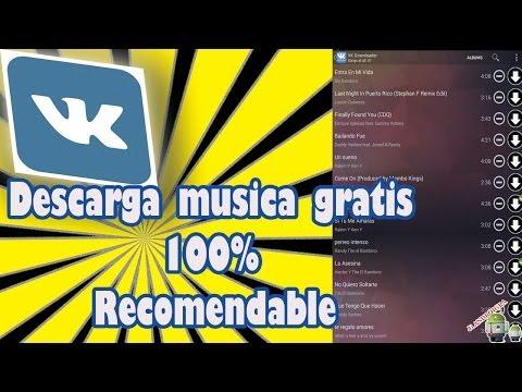 Como descargar musica gratis a través de VK aplicación para android 2014