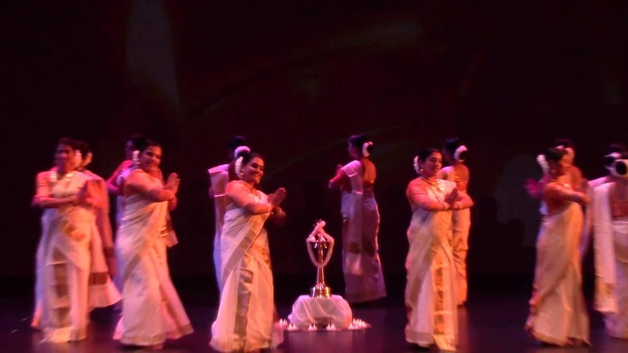 KAW 2016 ONAM Thiruvathira By Team Aavani