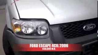 Chocada Ford Escape 2006 AutoComercia