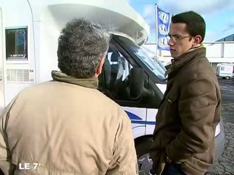 Angers salon du camping car d 39 occasion youtube for Salon du camping car angers