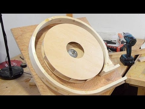 Building a dust collector blower