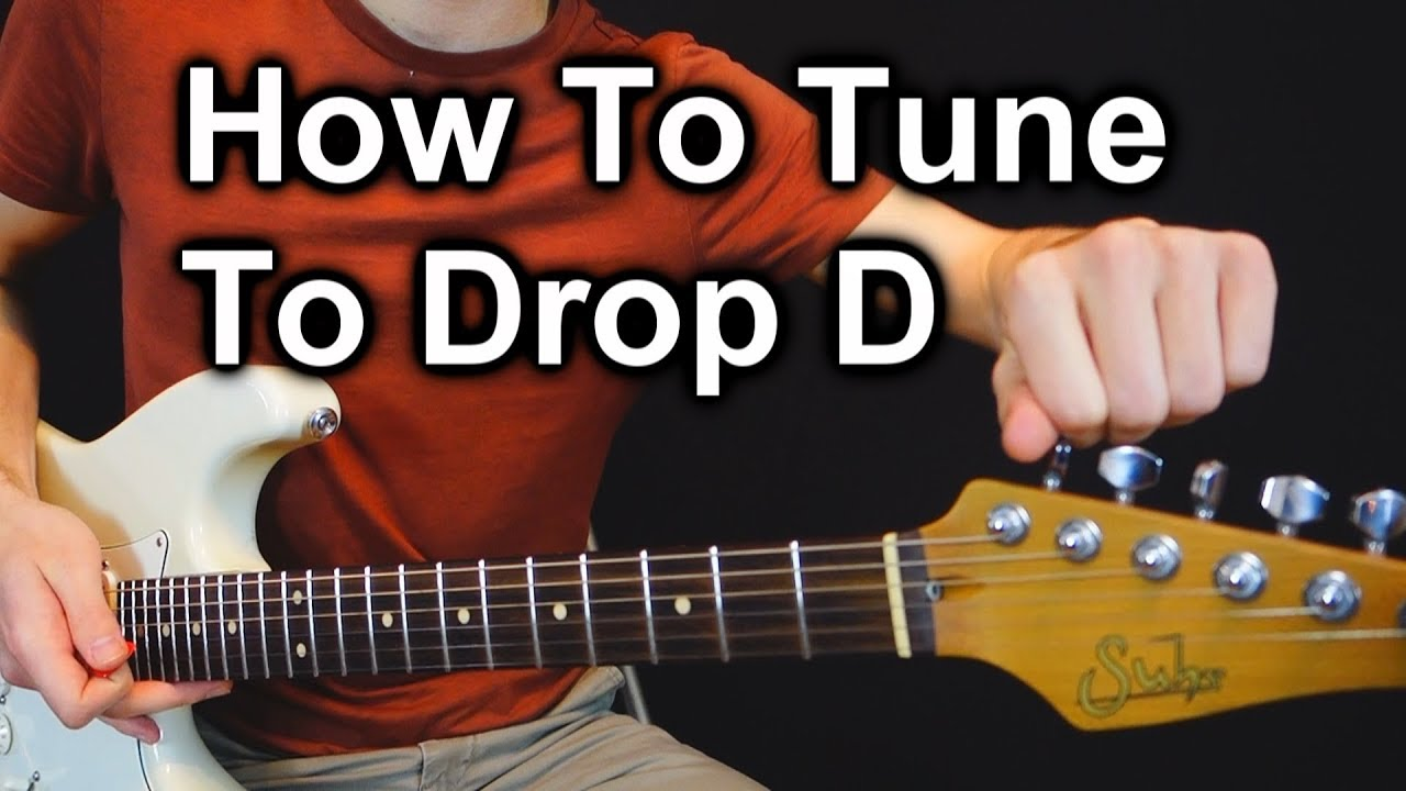 how to tune a guitar to drop d tuning another nice trick 2018 youtube. Black Bedroom Furniture Sets. Home Design Ideas