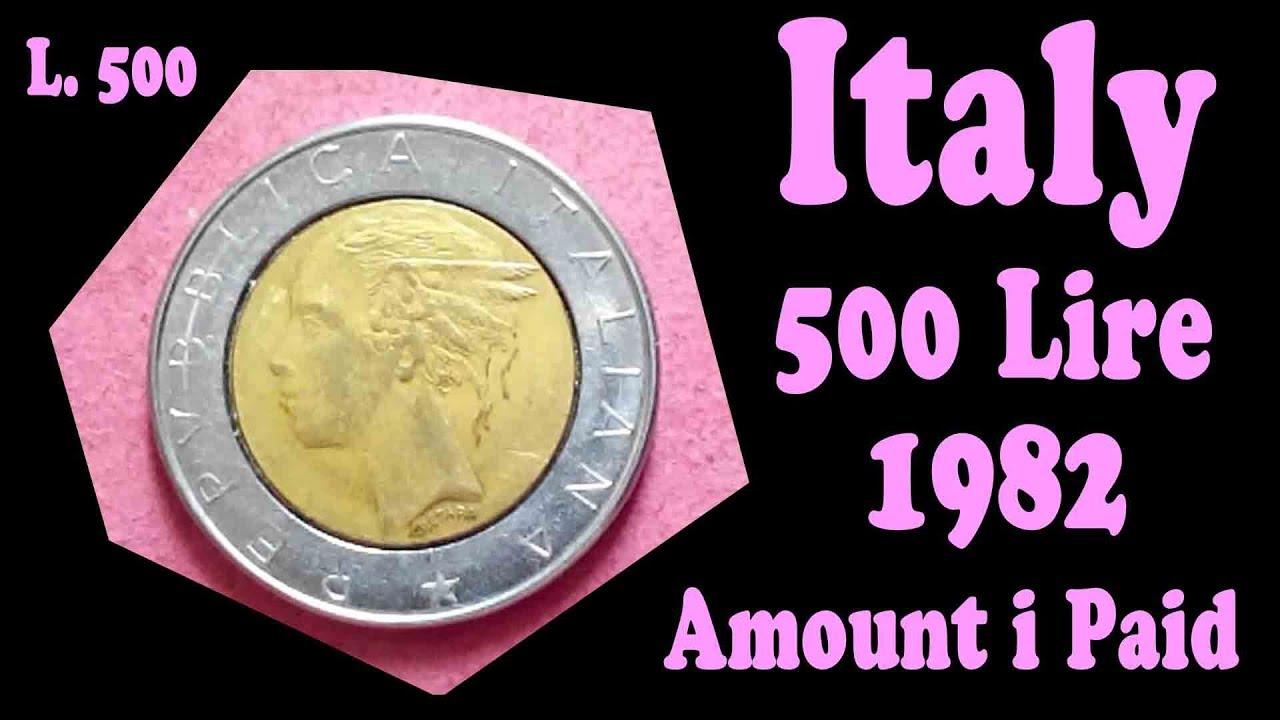 L 500 Repvbblica Italiana 1982