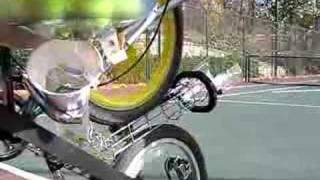 Pedal Powered Tennis Ball Launcher - Innovate or Die