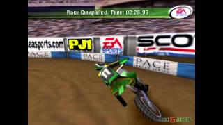 Supercross 2000 - Gameplay PSX / PS1 / PS One / HD 720P (Epsxe)