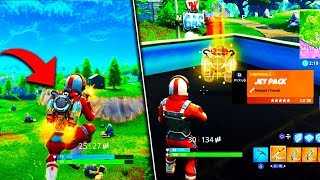 *NEW* JETPACK LEAKED FOOTAGE ON FORTNITE! - Fortnite Battle Royale Jetpack Update Info