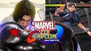 MvCI PS4 Morrigan/Zero vs Winter Soldier/Chun-Li