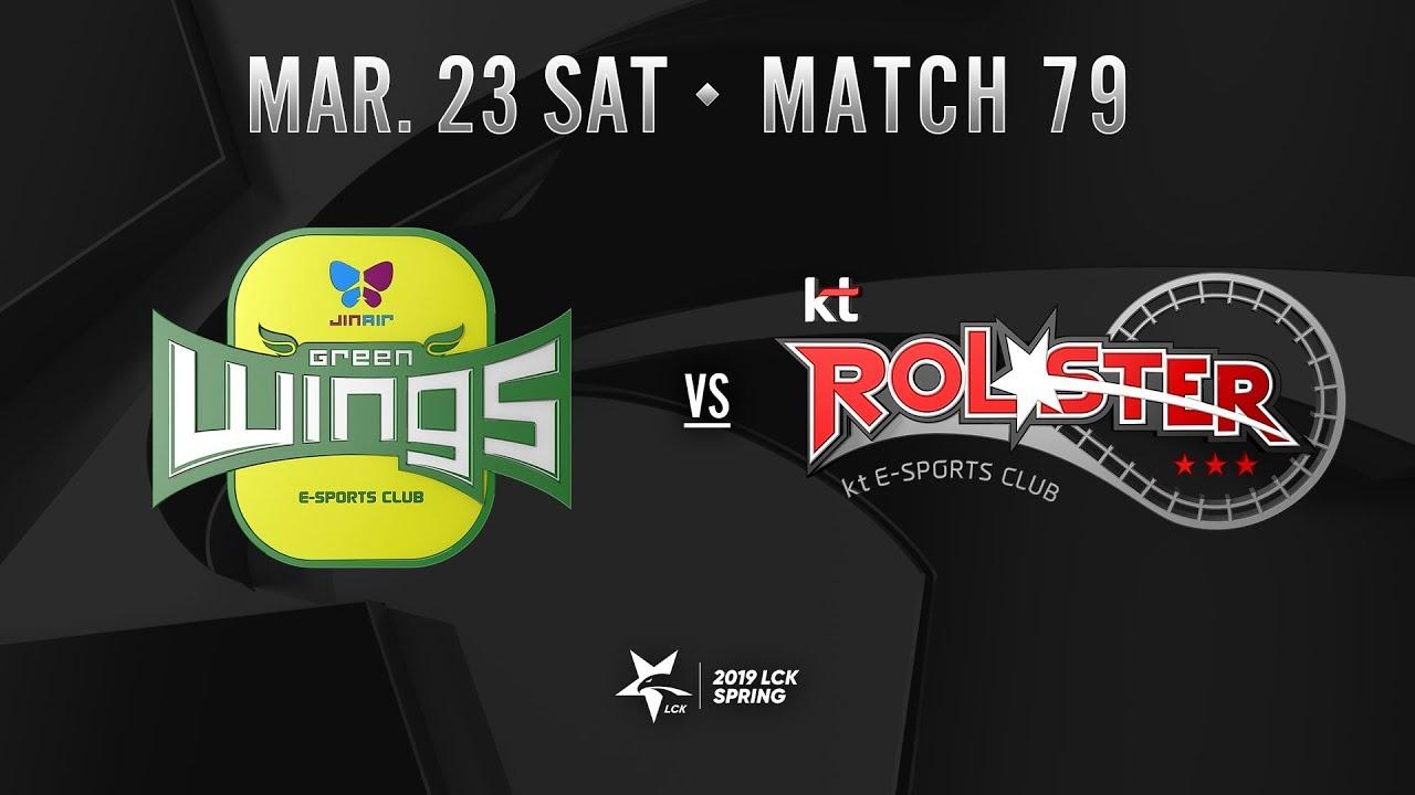 [2019 LCK SPRING] 0323 Match79 : JAG vs KT Highlight