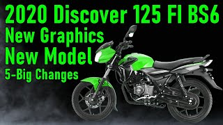 2020 Bajaj Discover 125 FI BS6 Launch in india | New Model | 5-Big Changes and Price | RGBBikes.com