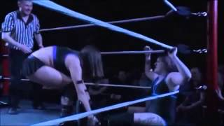 Mary Dobson Kicks Bete Noire in the crotch and Staple her!!