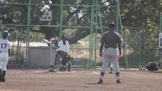 新作小学校、多摩川で活動している少年野球部です。 礼儀正しく、強く、...