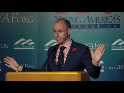 Daniel Hannan LIVE at the Fall College Retreat at the Reagan Ranch - 11:00 pm ET