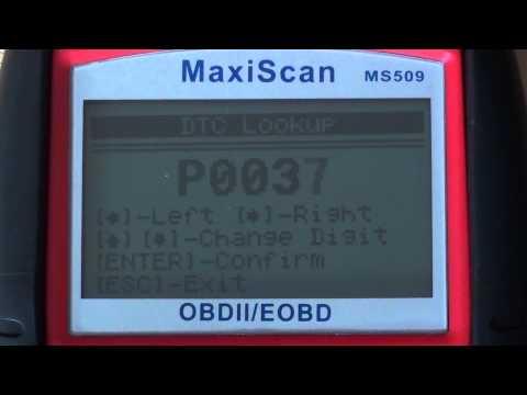 obd2 fault codes p0037