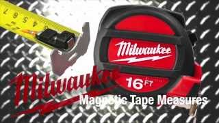 Milwaukee Magnetic Tape Measures for Pros - The Home Depot