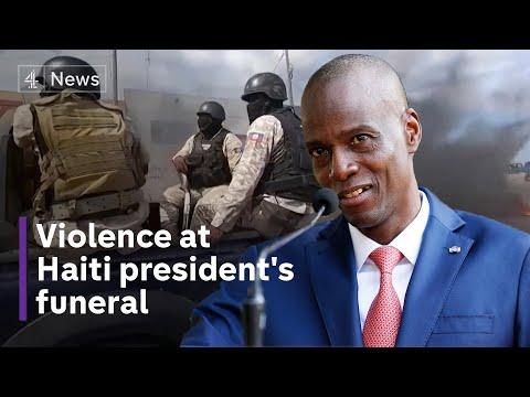 Haiti president's funeral
