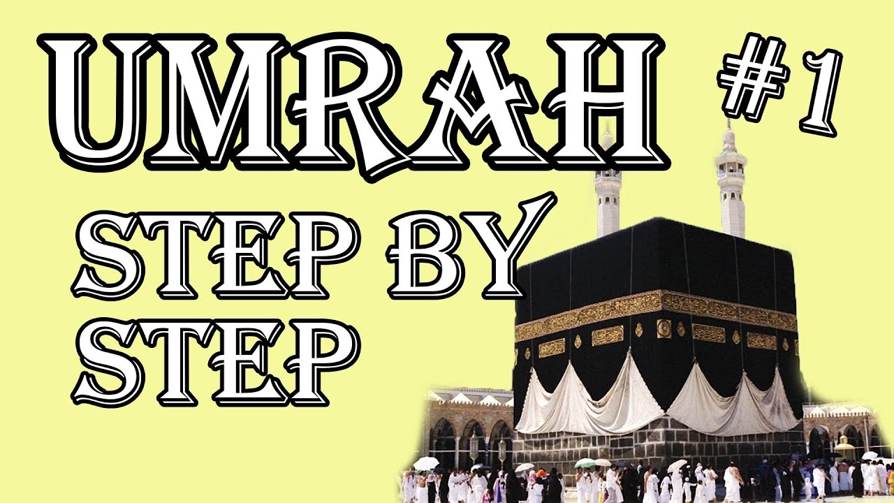 """Your Step By Step Guide To The: Umrah!! An Animated """"Step By Step Guide"""" To Your Umrah ~IN"""