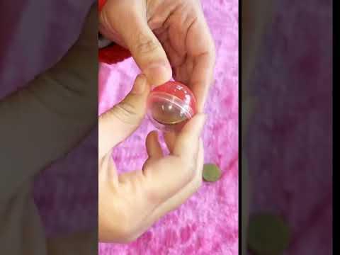 ☆芊芊☆現貨~外徑3.5cm按壓式扭蛋殼扭蛋球玩具公仔糖果盒收納盒摸彩球抽獎球婚禮小物春節尾牙遊戲夾娃娃機扭蛋機
