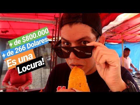 La EMPANADA MAS CARA DEL MUNDO 😱 ¿Son ilegales en Colombia?