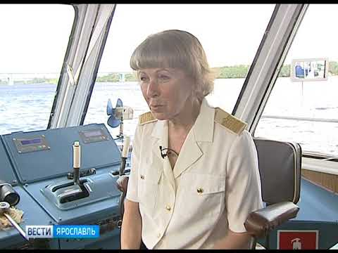Марина Гаврилова — единственная в регионе женщина—капитан корабля