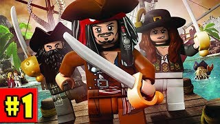 LEGO Pirates of the Caribbean - Walkthrough - Part 1 - Port Royal (PC HD) [1080p60FPS]