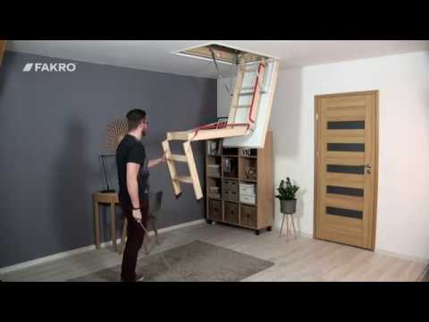 FAKRO Loft Ladders - LWL EXTRA