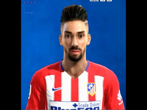 new face y hair yannick carrasco 2016 2017 pes 2013 youtube