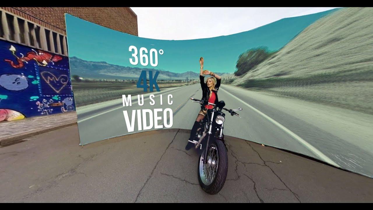 Noa Neal 'Graffiti' 4K 360° Music Video Clip