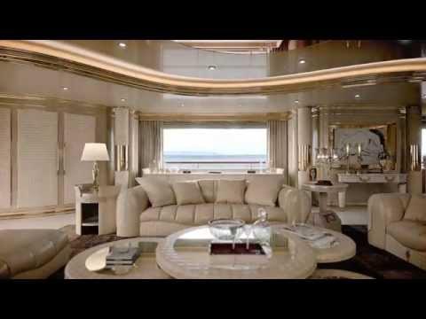 TURRI - Yacht project - luxury interior design furniture