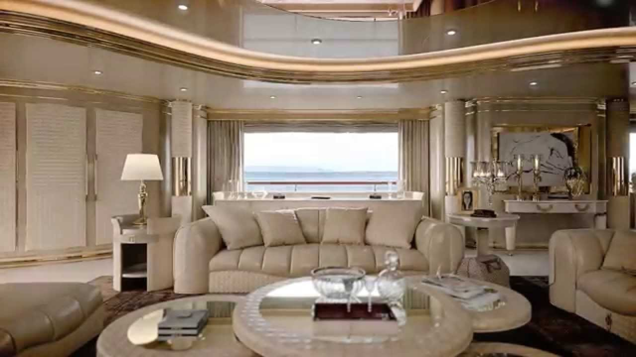 TURRI  Yacht project  luxury interior design furniture