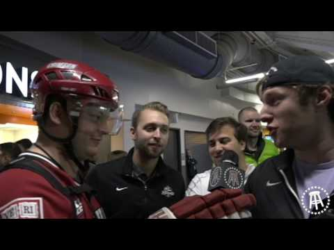 Harvard Hockey Beat Providence In Providence And Riggs Was There To Cover It Objectively
