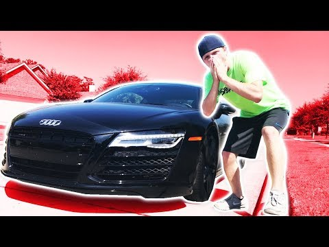 STEALING MOOSECRAFT'S SUPERCAR! (BAD IDEA!)