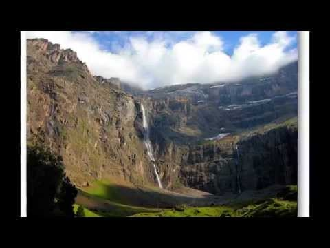 PYRENEES MOUNTAINS -BETWEEN SPAIN AND FRANCE  HD
