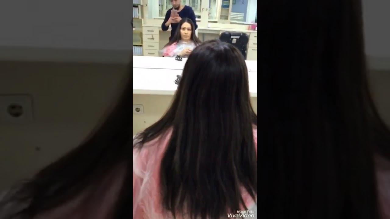 Siyah Saça Ombre Yapımı Youtube