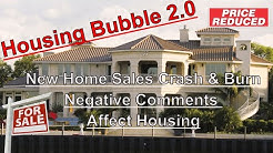 Housing Bubble 2.0 - New Home Sales Crash & Burn - Negative Comments Affecting Housing & Tampa Event