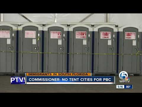 Commissioner: No tent cities for Palm Beach County