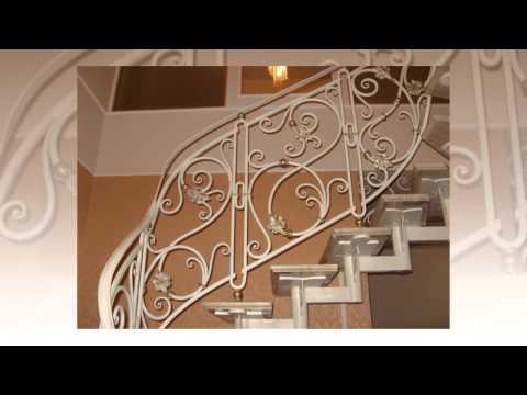 Кованые перила и лестницы – художественная ковка в Москве – (499) 403-13-89