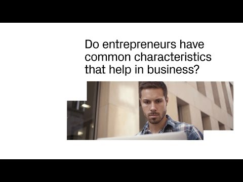 The Characteristics of Entrepreneurs
