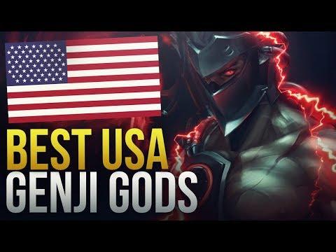 USA GENJI GODS - Overwatch Montage