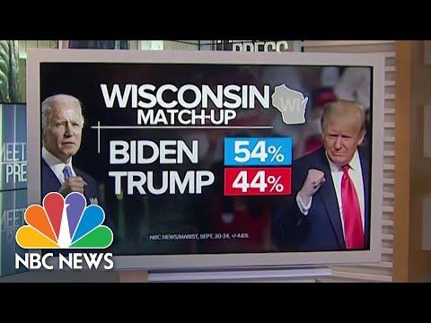 Biden Leads Before Debate: Up in Michigan, Wisconsin   Meet The Press   NBC News