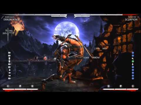 Erron Black Marksman Optimal Anti-Air Combo Routes Mortal Kombat XL