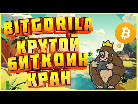 Bitgorila Биткоин(btc) кран Платит сатоши и рубли без вложений. Заработок криптовалюты