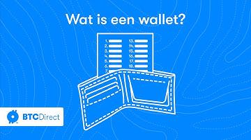 Hoe werkt een wallet voor bitcoin, ethereum en andere cryptocurrency? Uitleg voor beginners